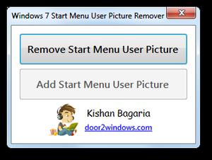 Windows 7 User Picture Remover