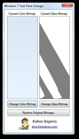 Windows 7 Task Pane Changer