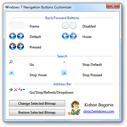 Win 7 nav buttons customizer by kishan bagaria on deviantart for Door to windows