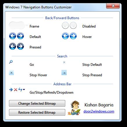 Win 7 Nav Buttons Customizer by Kishan-Bagaria