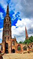 Coventry Cathedral 9 by AlanSmithers