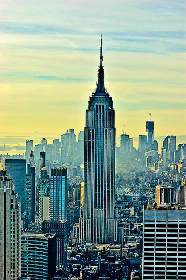 Empire State early morning by AlanSmithers