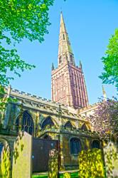 Coventry U.K. church by AlanSmithers