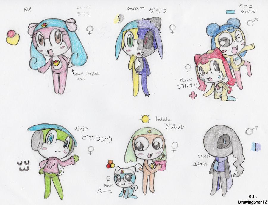 My Keroian OC's by DrawingStar12