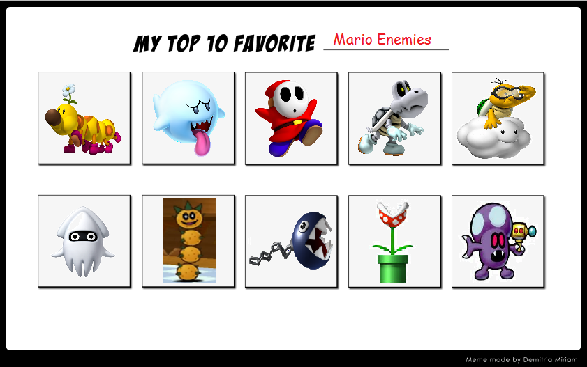List of enemies - Super Mario Wiki, the Mario encyclopedia