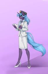 Field Scientist/ Captain Athena Silverlight