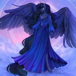 Princess Luna black mane and tail version