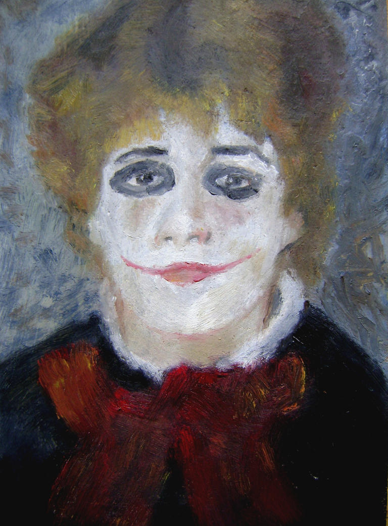 After Renoir by Juarezandanocamina