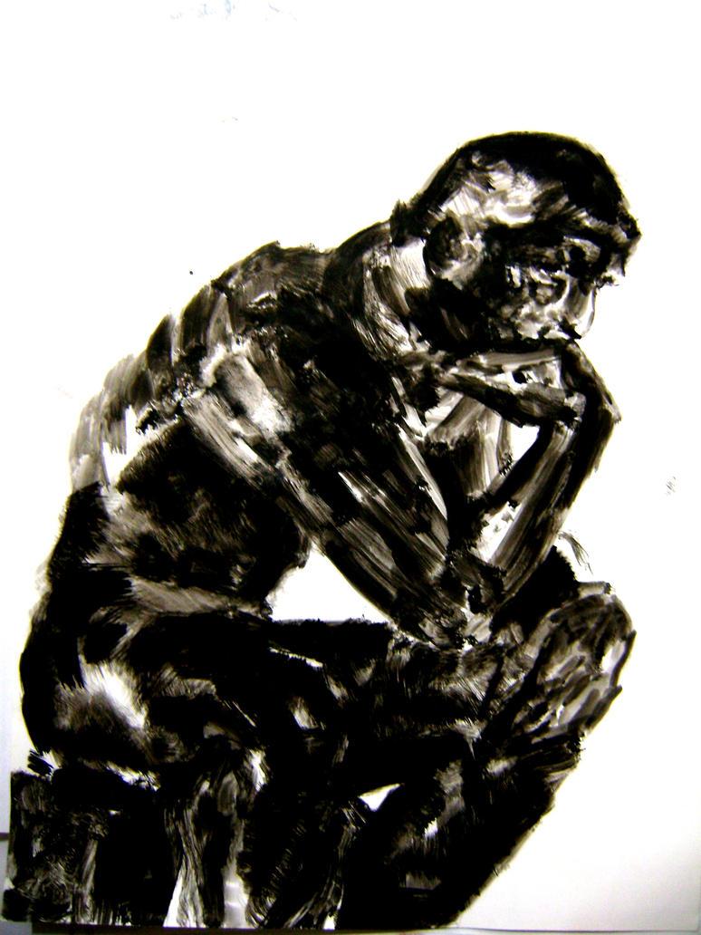 The Thinker by Juarezandanocamina