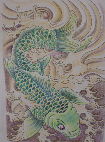 Koi fish tattoo no1 by kaydeeire on deviantart for Where can i buy koi fish