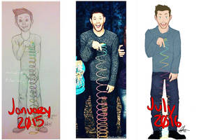 Jensen Over The Years (lol)