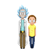 Rick And Morty by kakarotcakes