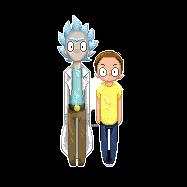 Rick And Morty by kakarotcakes