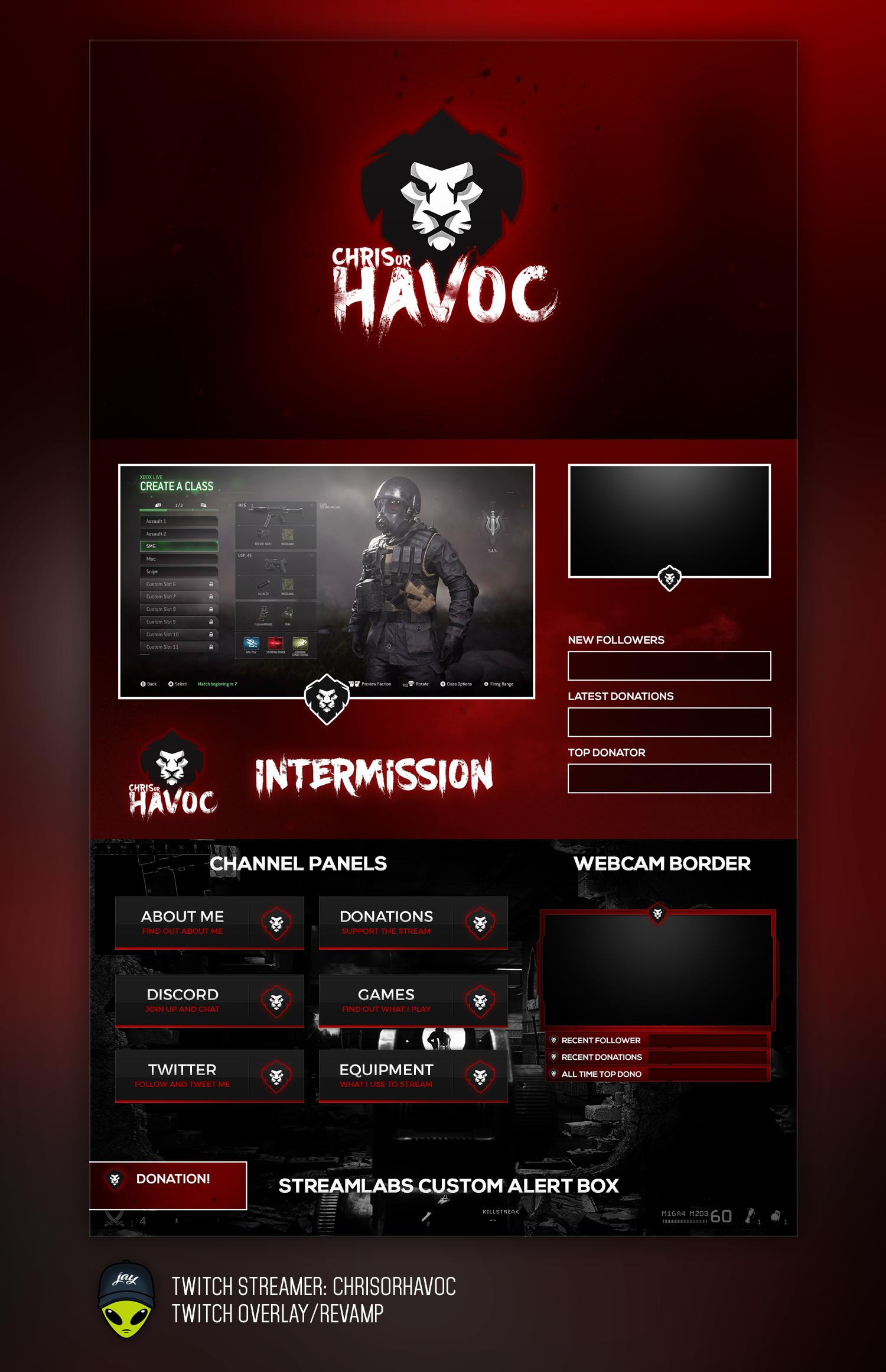 ChrisorHavoc Twitch and Logo Revamp by infemeth
