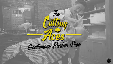 Barbershop Logo by clgraphics