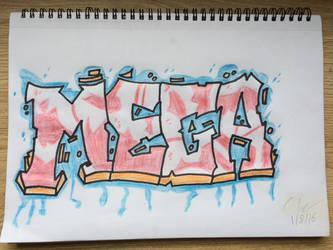 Mega Graffiti Tag *Beginners* by clgraphics