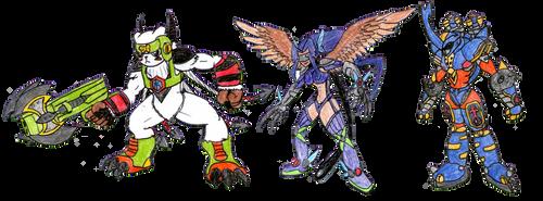 Fusion Spirit Evolution! by MegaloRex