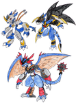 Veemon Evolutions
