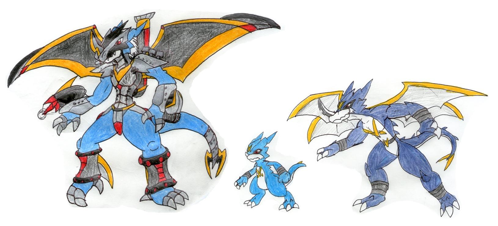digimon veemon evolution - photo #25
