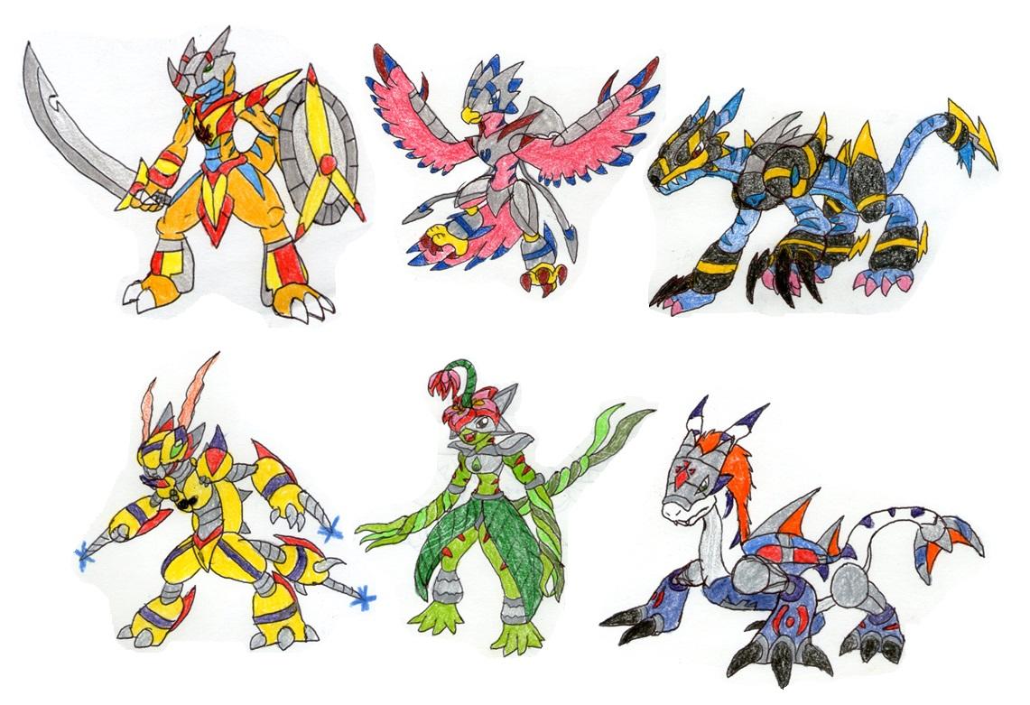 Digimon Calumon Digimon Calumon Evolution
