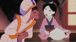 Aladdin and Mulan Crossover