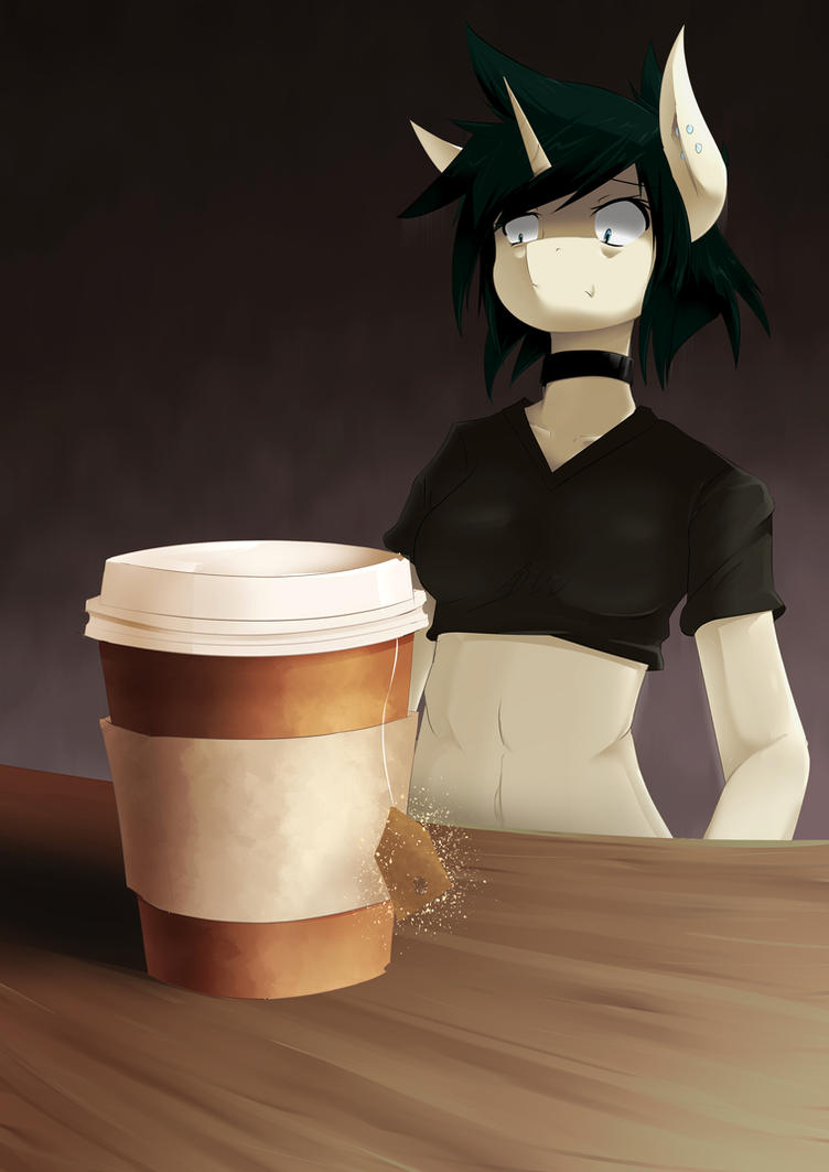 This Isn't Coffee by scynexx