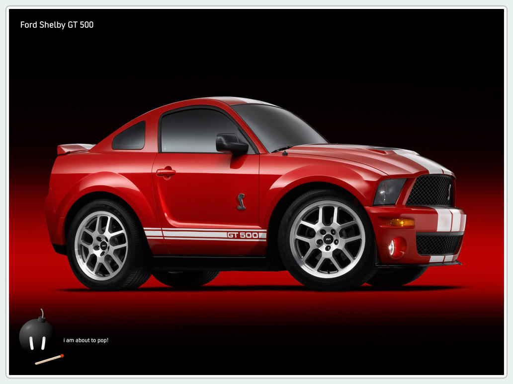Ford Shelby GT 500 by ka-b00m on deviantART