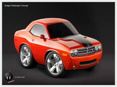 Dodge Challenger Concept 01