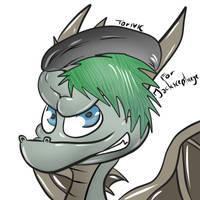 Jackscepticeye as Spyro by Torivic