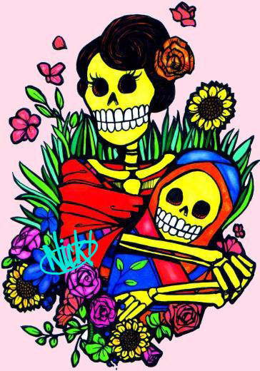 Mother - Child Day Of The Dead by NickUnlimited