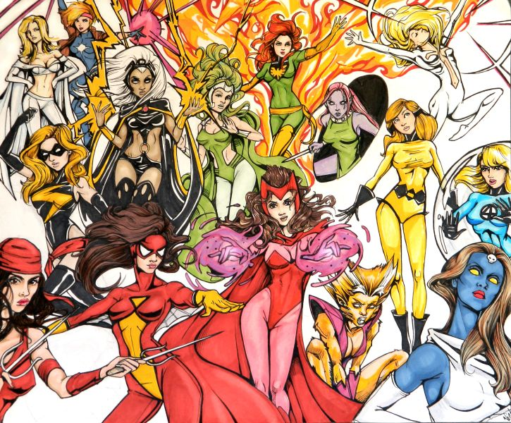 1000  images about Ladies of Marvel on Pinterest