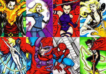 Marvel Art Cards by NickUnlimited