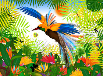 Bird of Love n Peace by BudhuFakir