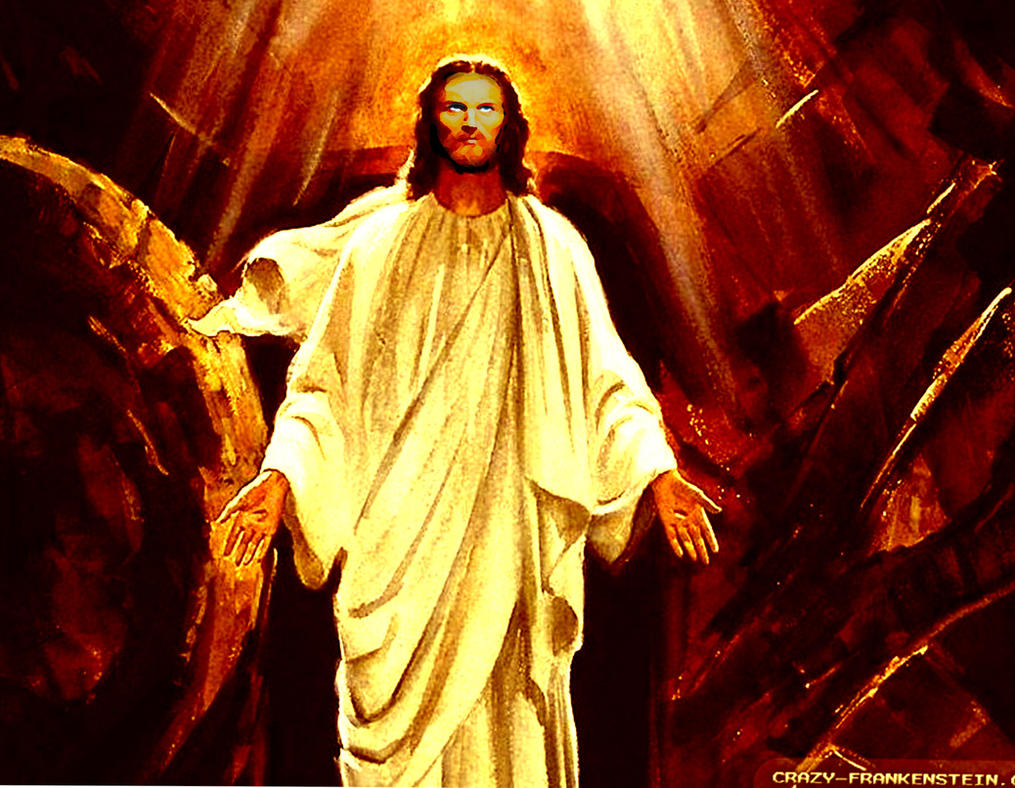 Liam Neesan Jesus by Sparrowstar