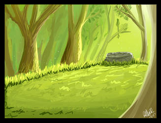 .:Paint tool Forest:. by matrix9000