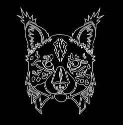 .:Endangered Iberian Lynx Lineart V1:. by matrix9000