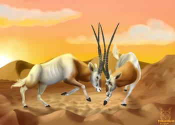 .:oryx battle:. by matrix9000