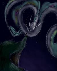 Starform dragon - speedpaint by PoppingBubble