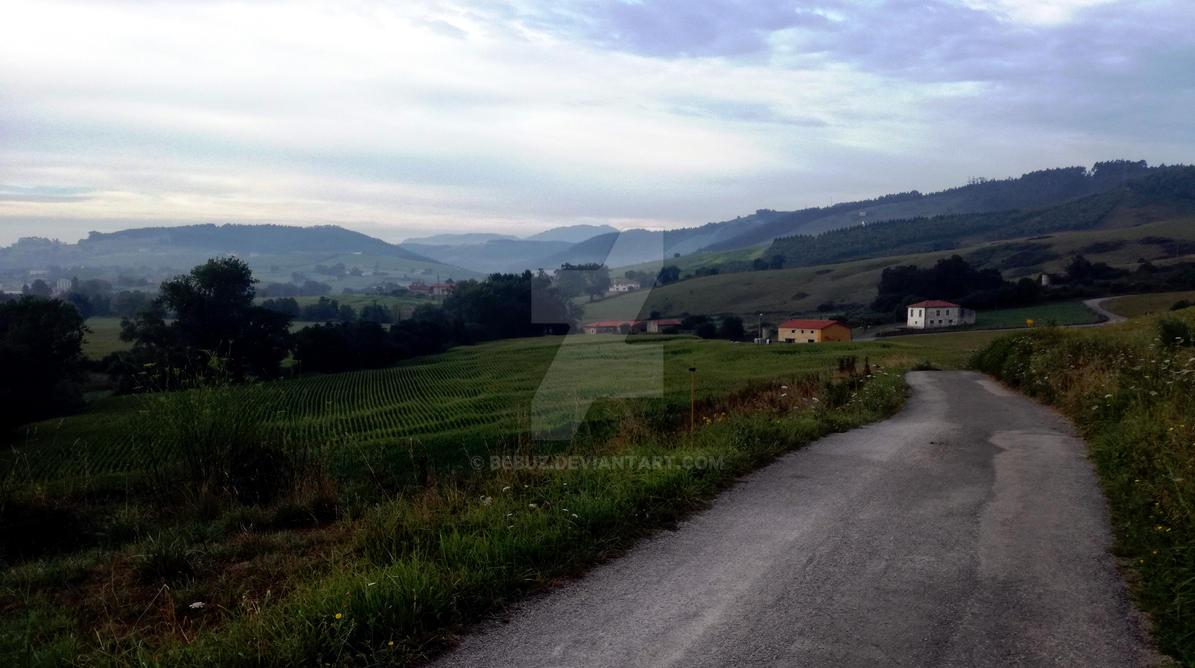 La strada by bebuz on deviantart - Guemes cantabria ...
