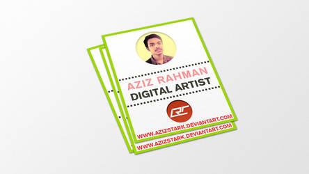 My Deviant Card by AzizStark