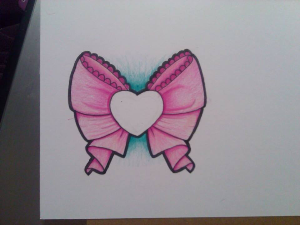 sailor moon style bow tattoo design by Miss-Ag on DeviantArt
