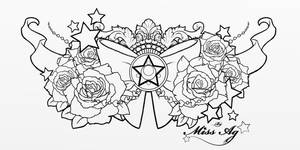 Sailor moon chestpiece **commission**