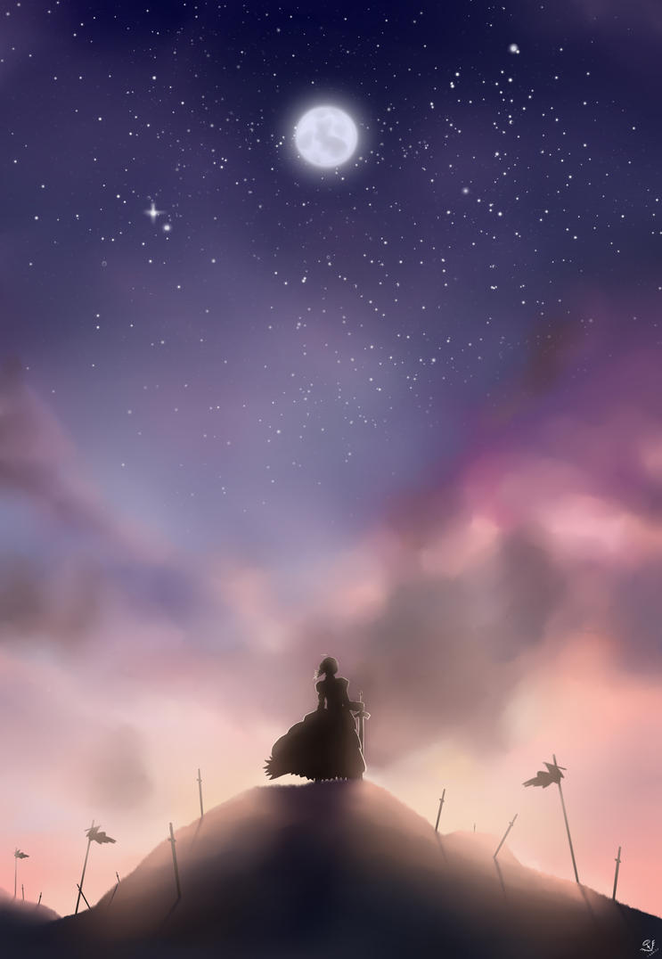 +Fate/Zero Saber+ by ikarisu