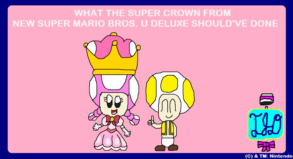 What the Super Crown should've done by TimoArtist