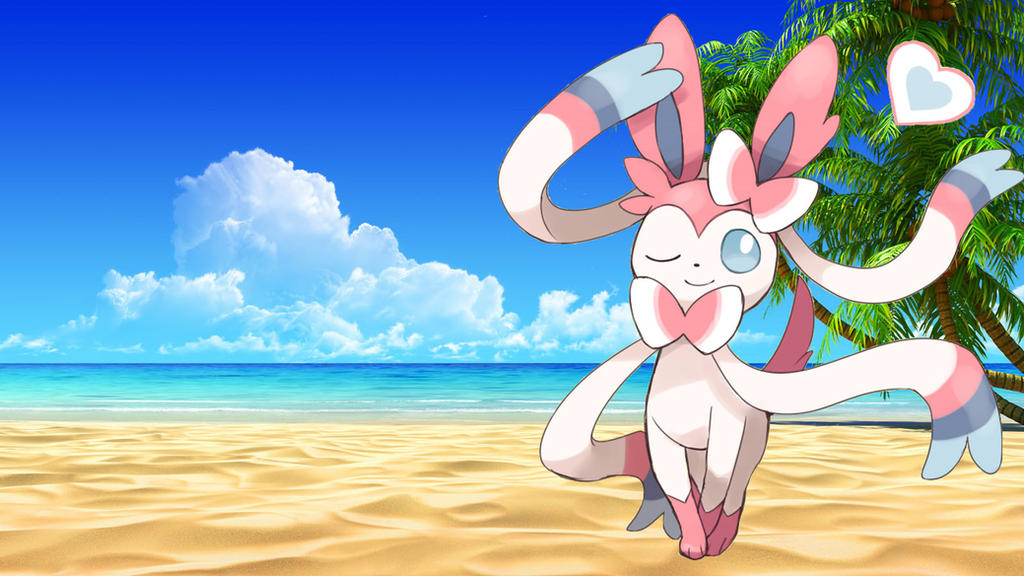 Cute Sylveon Wallpaper