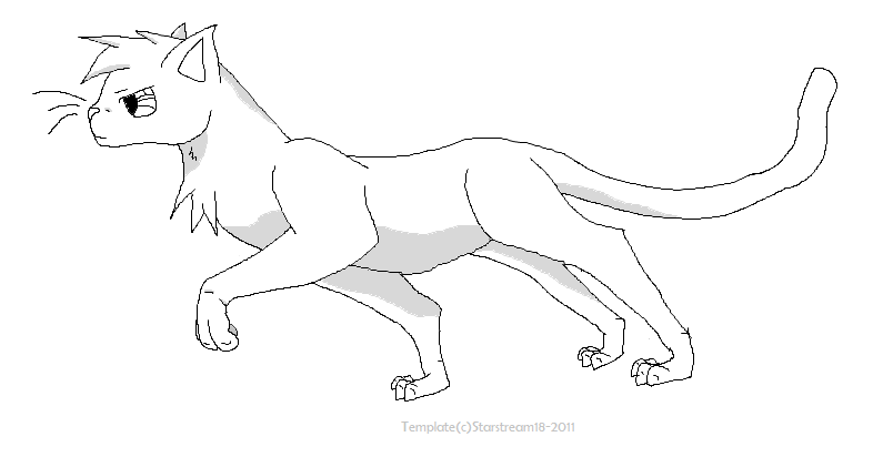 Warrior Cats Template Male By Starstream18 On DeviantArt