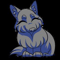 Chibi Wolf - YCH