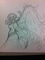 random sketch by rppena