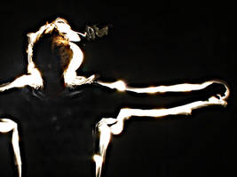 Light Art: His Silver Lining by ellen92
