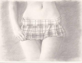 Mini-skirt by pouicky